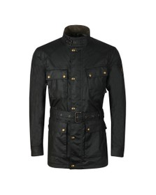 Belstaff Mens Black Trialmaster Wax Jacket