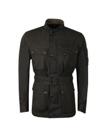 Belstaff Mens Black Trialmaster Cotton Jacket