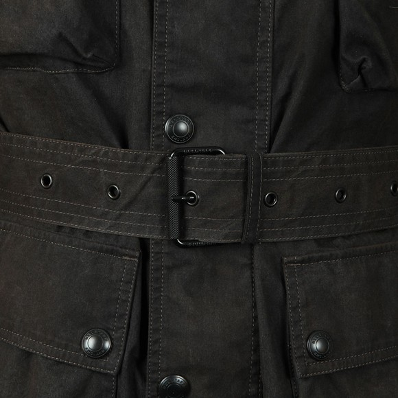 Belstaff Mens Black Trialmaster Cotton Jacket main image