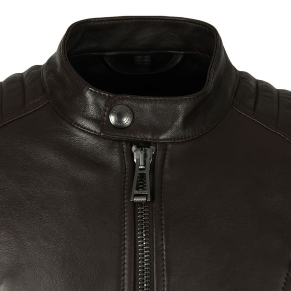 Belstaff Mens Brown V  Racer Leather Blouson main image