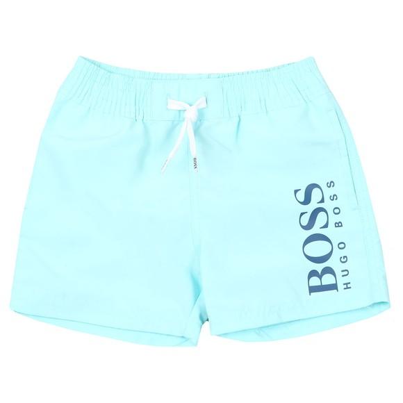 BOSS Baby Boys Blue J04325 Swim Short main image