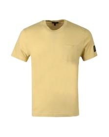 Belstaff Mens Yellow Thom 2.0 T Shirt