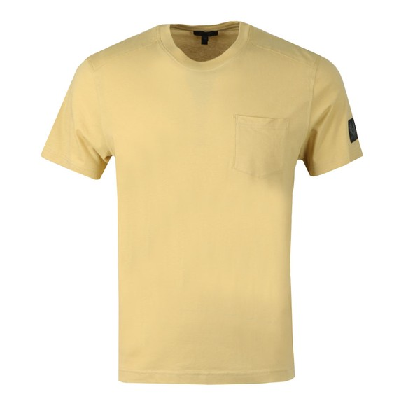 Belstaff Mens Yellow Thom 2.0 T Shirt main image