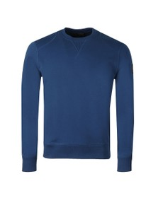 Belstaff Mens Blue Jefferson Sweatshirt