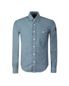 Belstaff Mens Blue Steadway Shirt