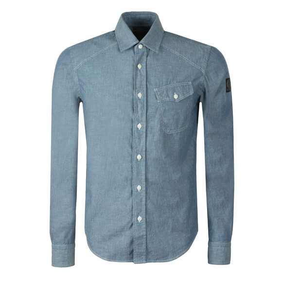Belstaff Mens Blue Steadway Shirt main image