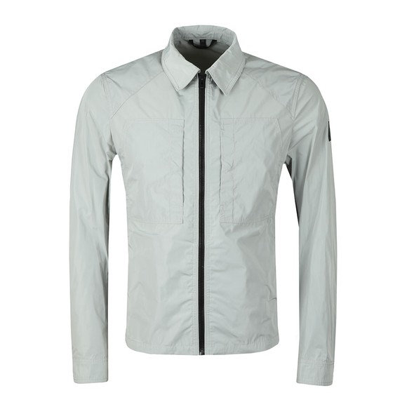 Belstaff Mens Grey Throncroft 2.0 Overshirt main image