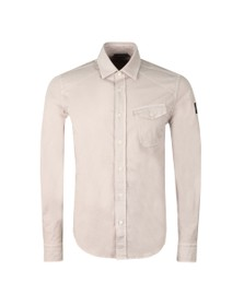 Belstaff Mens Off-White Steadway Shirt