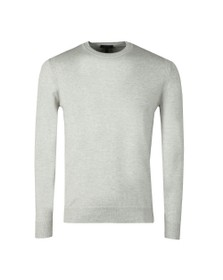 Belstaff Mens Grey Moss Crew Neck Jumper