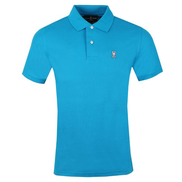 Psycho Bunny Mens Turquoise Classic Polo Shirt main image