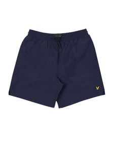Lyle and Scott Mens Blue Plain Swim Short