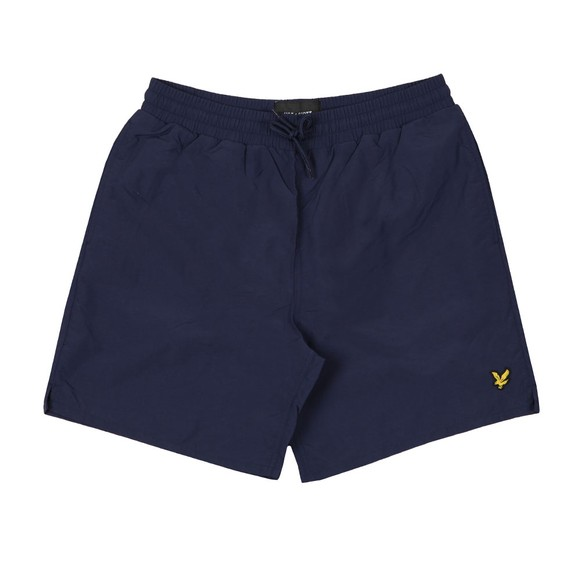 Lyle and Scott Mens Blue Plain Swim Short main image
