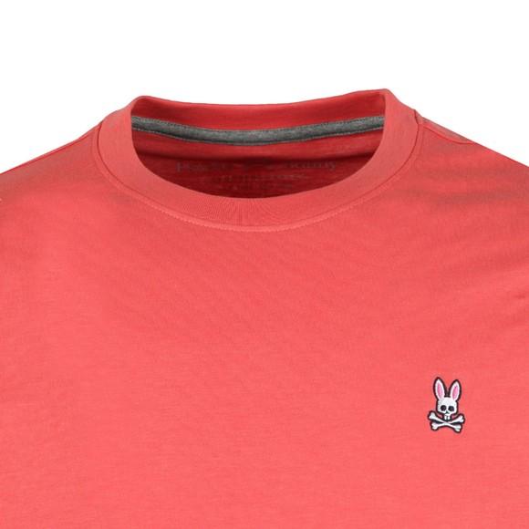 Psycho Bunny Mens Orange Classic Crew Neck T-Shirt main image