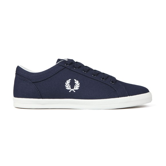 Fred Perry Mens Blue Baseline Trainer