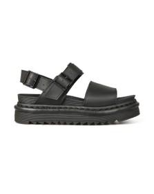 Dr. Martens Womens Black Voss Sandal