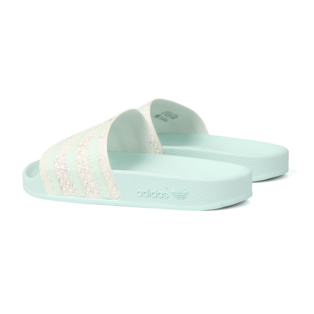 4fae885beff4 adidas Originals Womens Green Adilette Slide