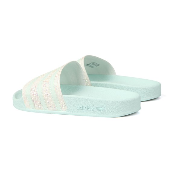 adidas Originals Womens Green Adilette Slide main image
