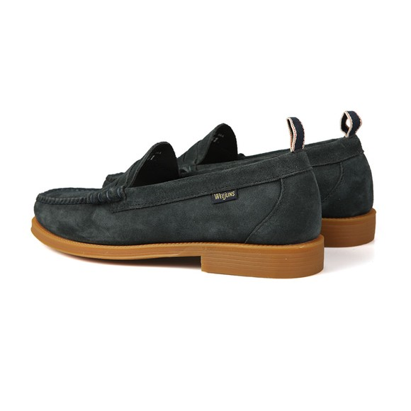 G H Bass & Co Mens Blue Larson Suede Loafer main image