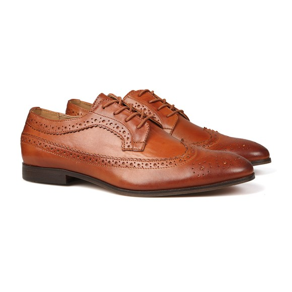 H By Hudson Mens Brown Crowthorne Shoe main image