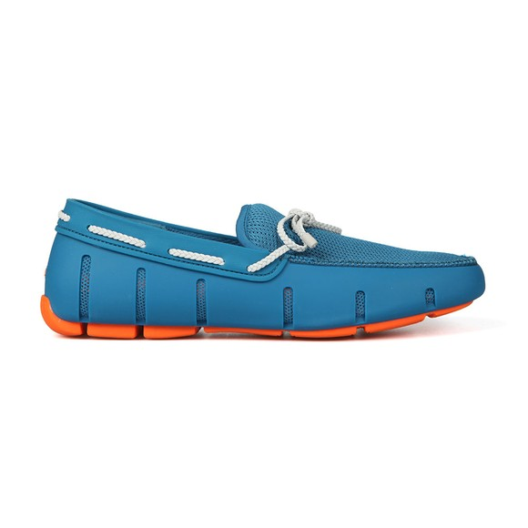 Swims Mens Blue Braided Lace Loafer main image
