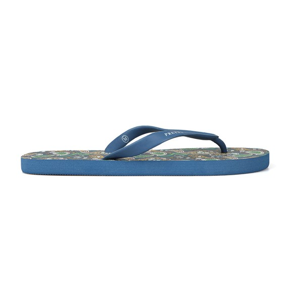 f6d48fc93 Pretty Green Mens Multicoloured Paisley Flip Flop main image