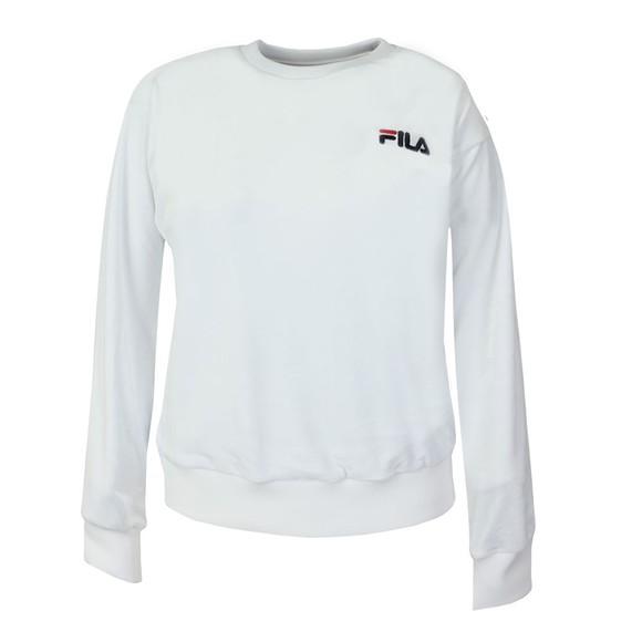 Fila Womens White Emilia Crew Sweatshirt main image