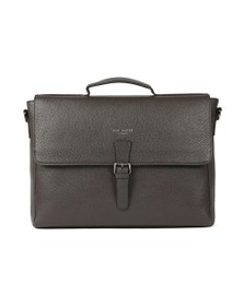 Ted Baker Mens Brown Leather Satchel