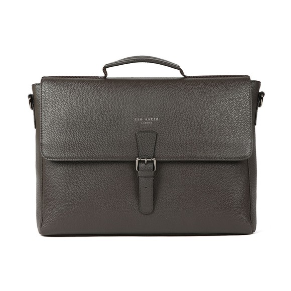 Ted Baker Mens Brown Leather Satchel main image