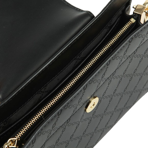 Michael Kors Womens Black Large Convertible Xbody Clutch main image
