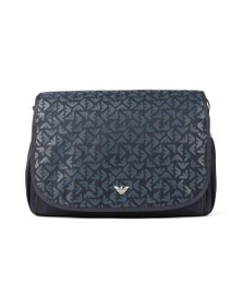 Emporio Armani Baby Boys Blue Changing Bag