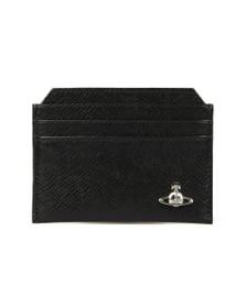 Vivienne Westwood Mens Black Kent Slim Card Holder