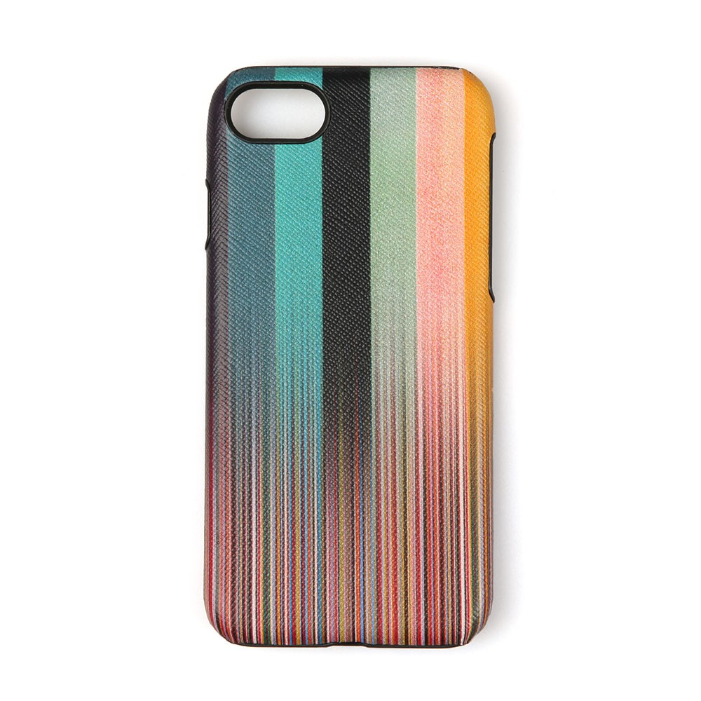 new style 254d7 a0241 PS Paul Smith iPhone 8 Artist Stripe Case