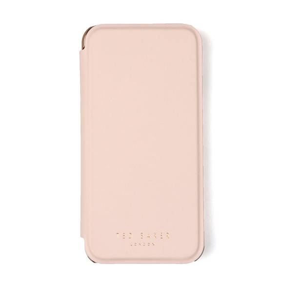 Ted Baker Womens Pink Shannon Book With Mirror Iphone 8 Case main image
