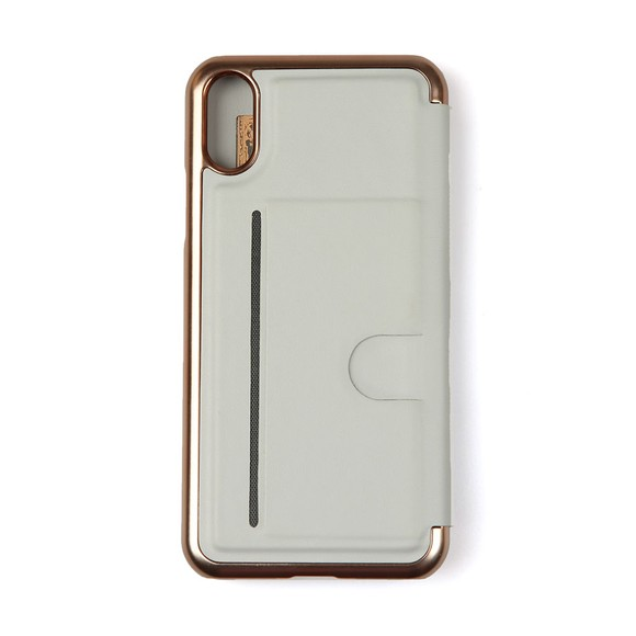 Ted Baker Womens Grey Nambot Iphone X XS Mirror Plain Case main image