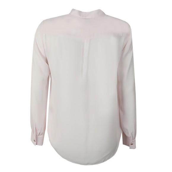 Ted Baker Womens Pink Lovii Elegant Print Ruffle Blouse main image
