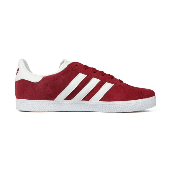 adidas Originals Boys Red Childrens Gazelle Trainers