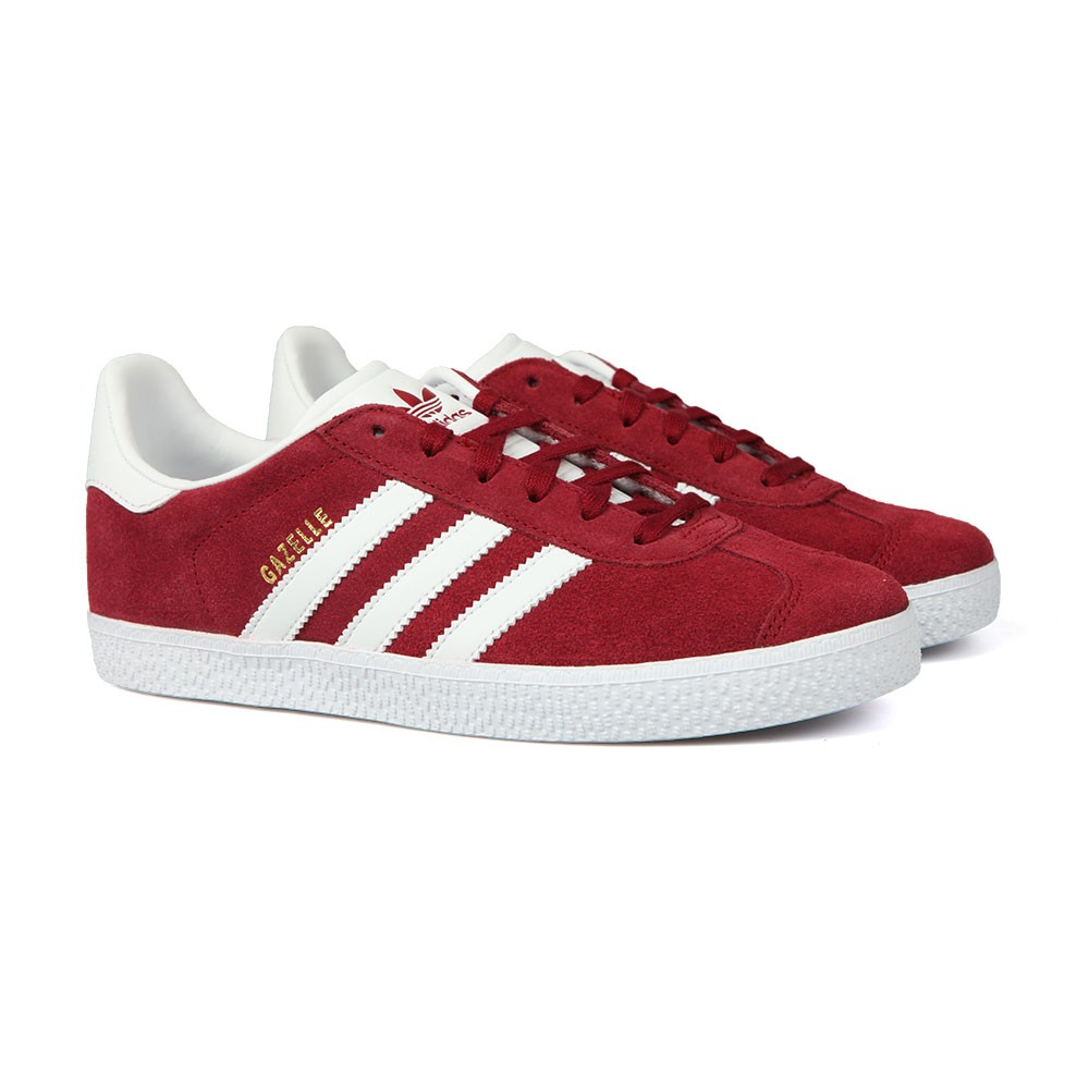 Boys Red Childrens Gazelle Trainers