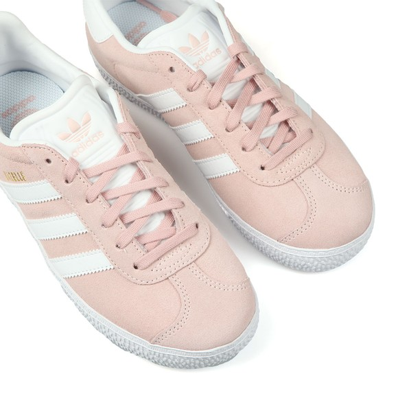 adidas Originals Girls Pink Childrens Gazelle Trainer main image
