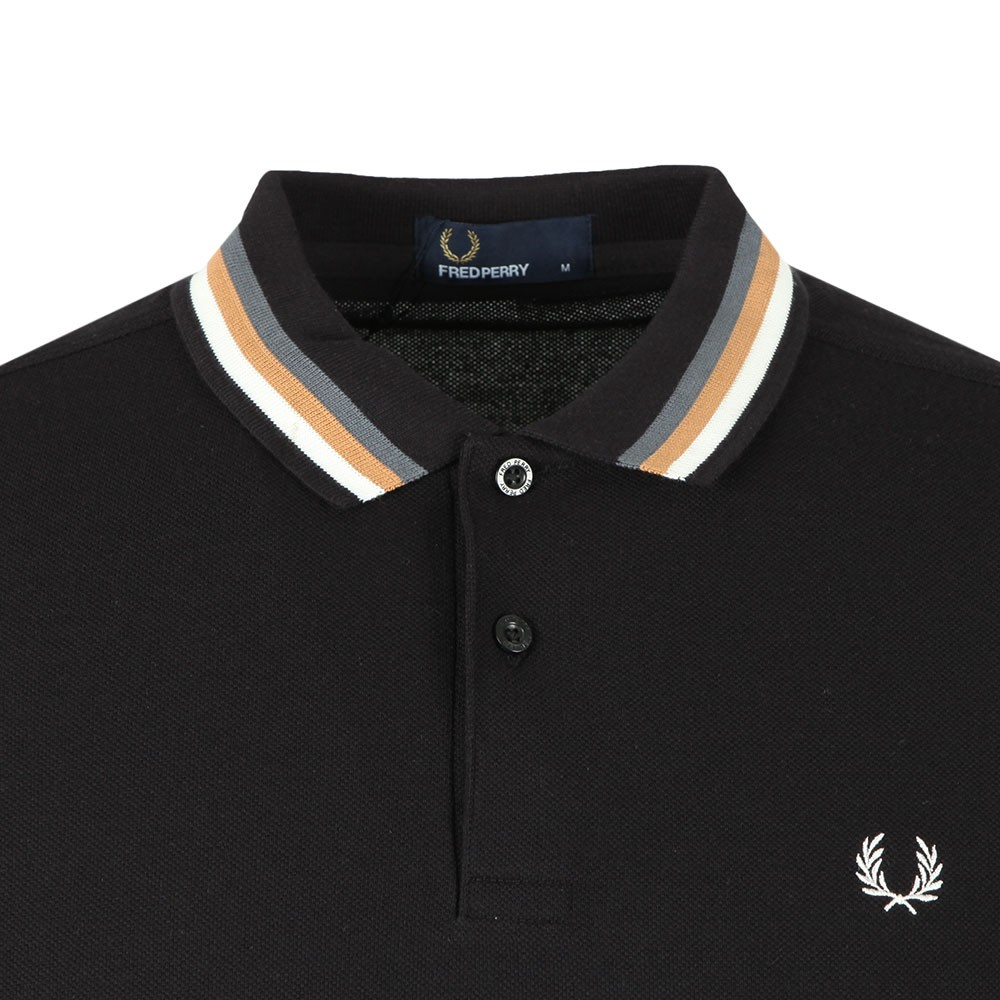 Bomber Stripe Polo main image