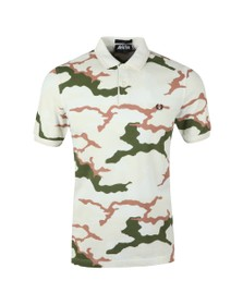 Fred Perry X Arktis Mens Beige Camo Polo