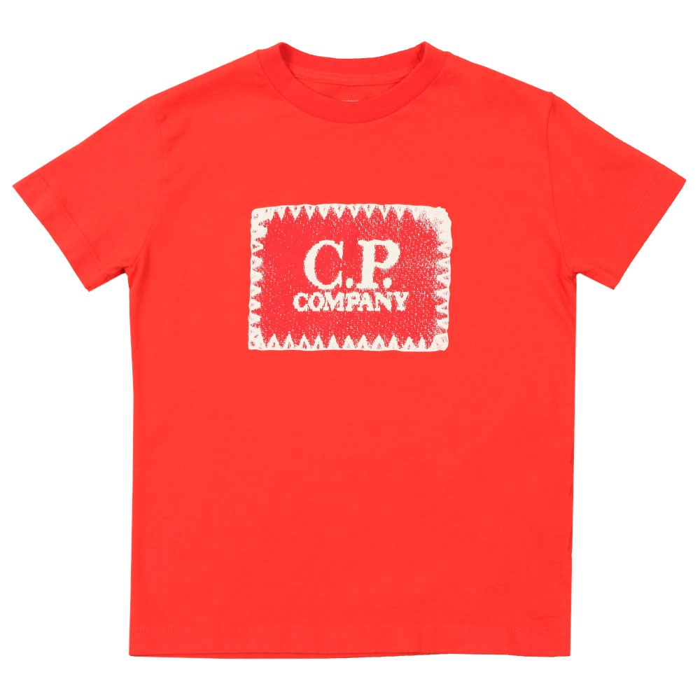 Stamp Crew T Shirt main image