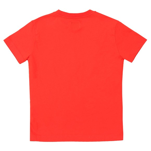 C.P. Company Undersixteen Boys Red Stamp Crew T Shirt main image