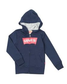 Levi's Boys Blue Batwing Logo Zip Hoody