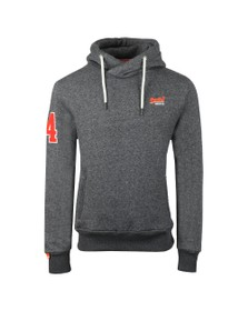 Superdry Mens Airforce Grey Twill Field Hood
