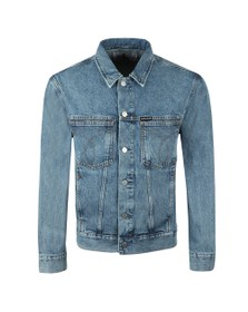Calvin Klein Jeans Mens Blue Denim Jacket