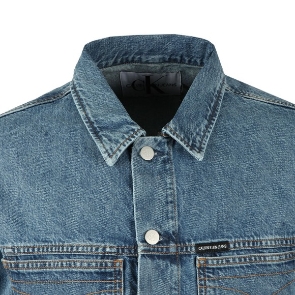 Calvin Klein Jeans Mens Blue Denim Jacket main image