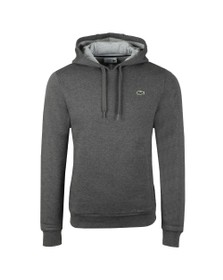 Lacoste Sport Mens Grey SH2128 Hooded Sweat