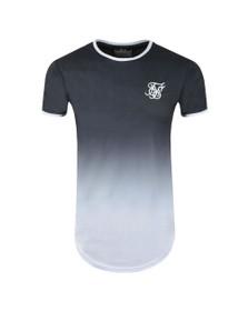 Sik Silk Mens Grey Ringer Fade Gym T-Shirt
