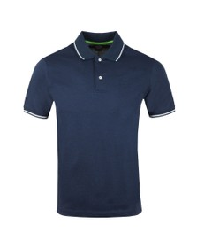 Paul & Shark Mens Blue Tipped Polo Shirt