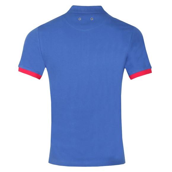 Vilebrequin Mens Blue Palatin Pique Polo Shirt main image